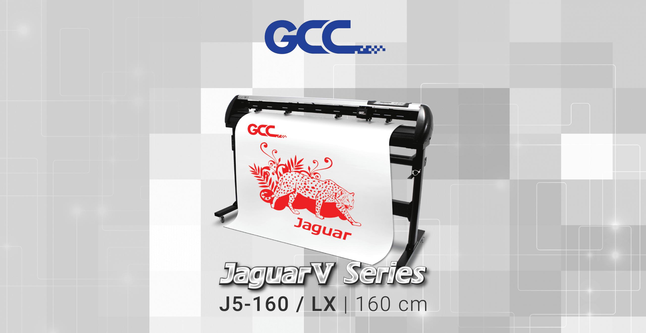 GCC plotter de corte Jaguar V 160 LX