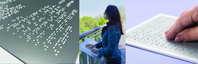 Braille con impresoras UV LED de Mutoh
